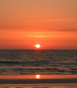 A sunset on Panama City Beach