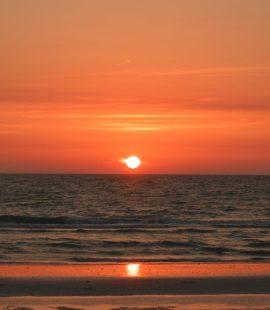 A sunset on Panama City Beach