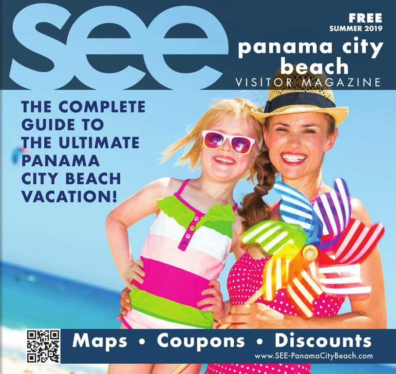 Free vacation guide to Panama City Beach, Florida - 2019 Cover