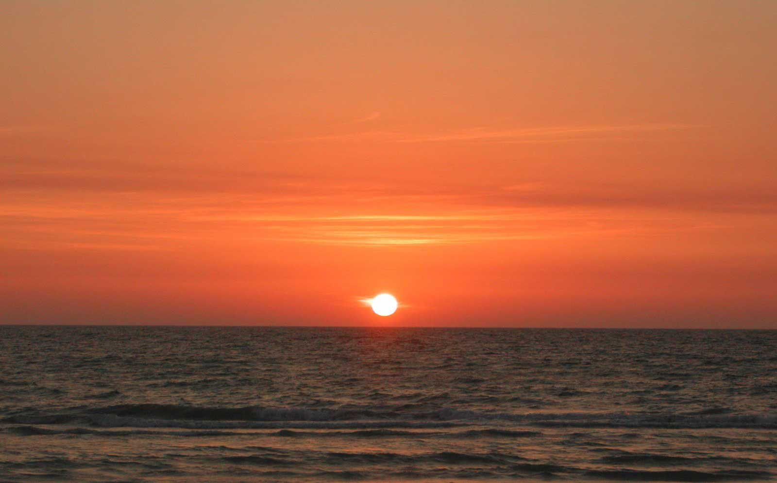 Sunset on Panama City Beach, FL
