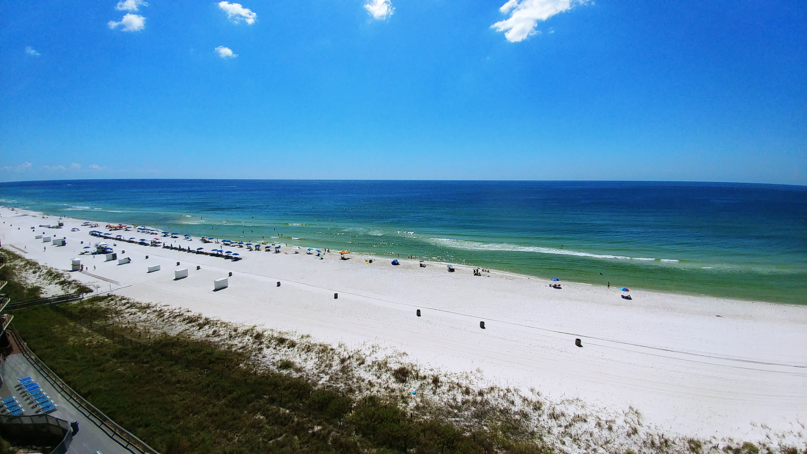 Panama City Beach - a view from our beach rental condos