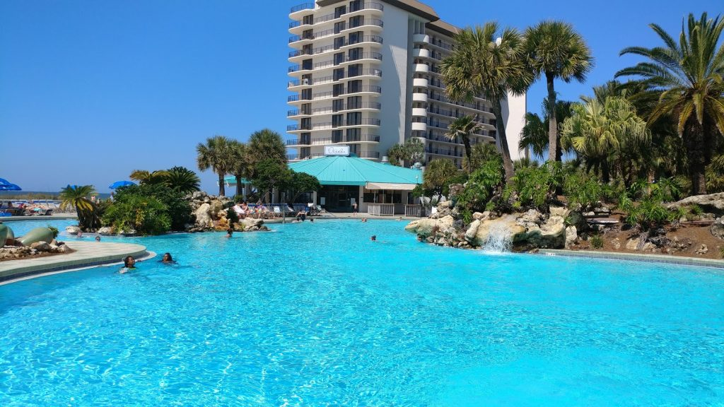 Beach condo vacation rentals with pools in Panama City Beach, FL
