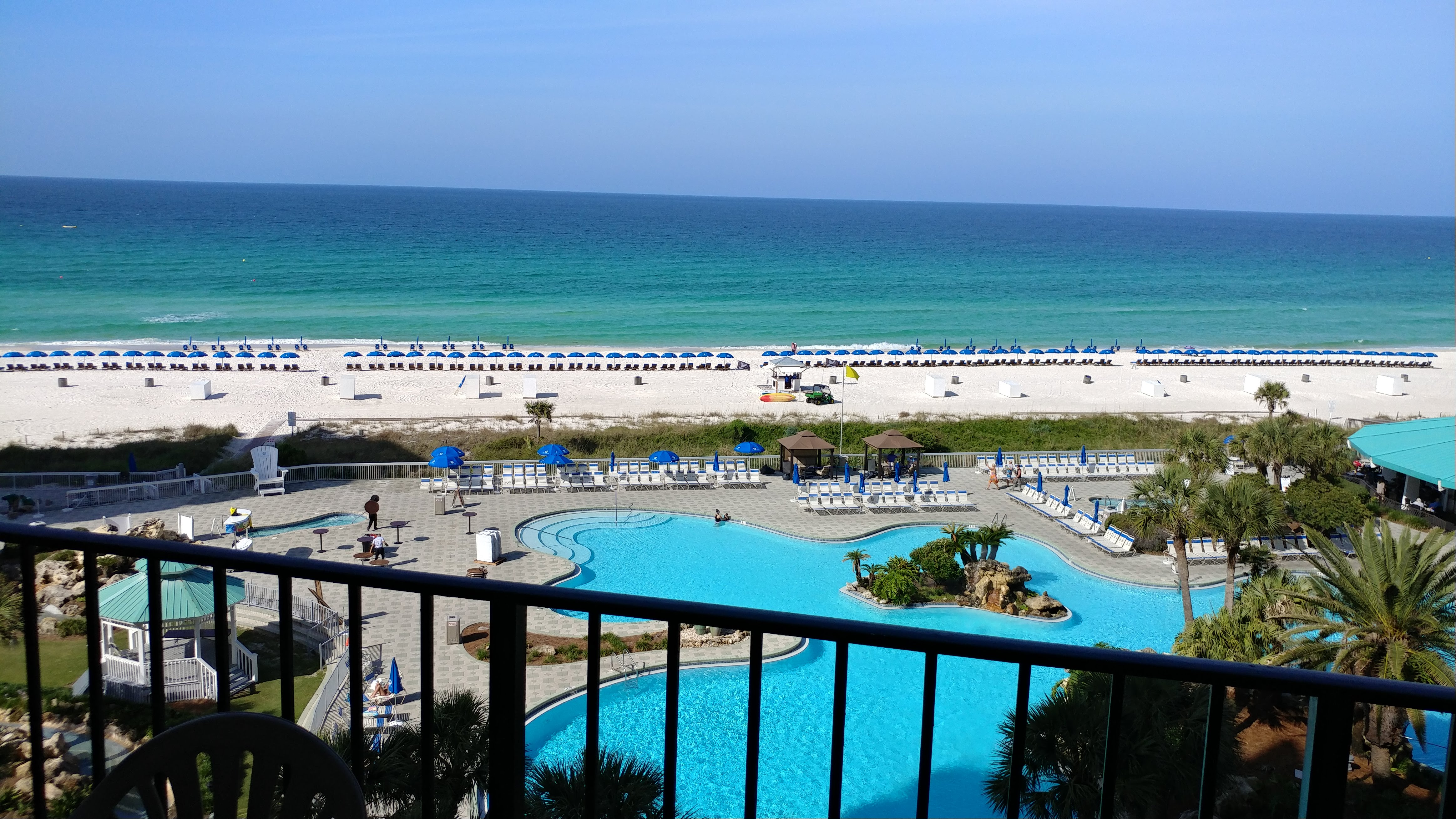 View of Panama City Beach from one of our condo rentals